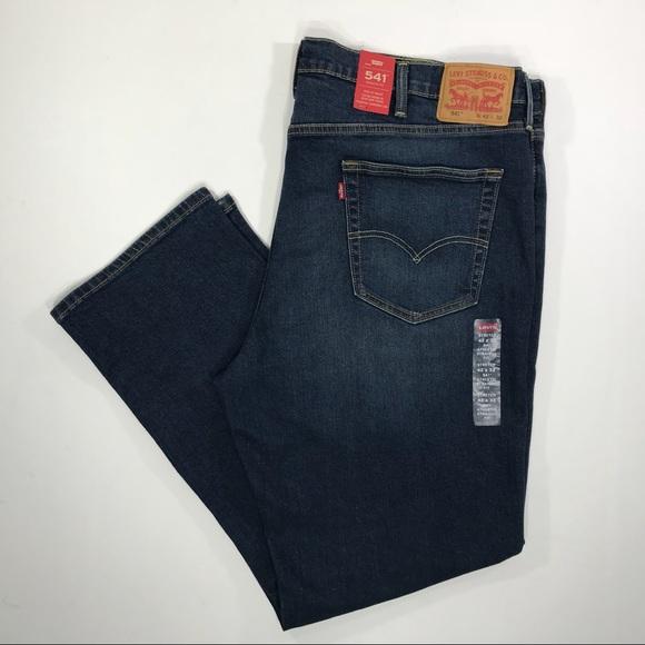 97bda598 Levi's Jeans   Levis Mens 541 Athletic Fit Blue 42x32 X0309   Poshmark